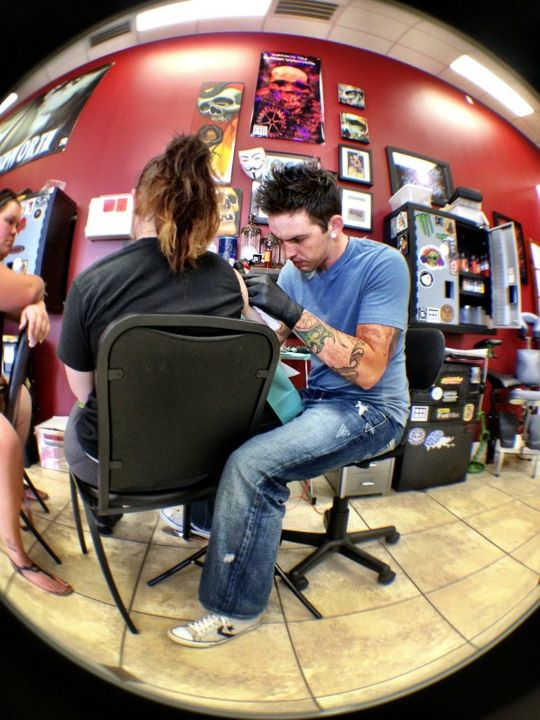 An Impression of a Lifetime: Mike Woods, Tattoo Artist Extraordinaire