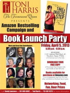 "Toni Harris ""The Turnaround Queen"" Presents Amazon Best-Selling Campaign and Book Launch Party 2"