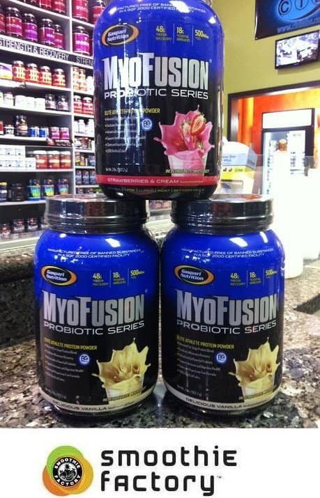 MyoFusion Probiotic Series: Smoothie Factory Supplement to Meet Your Work-out Needs