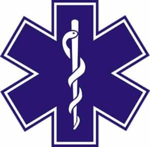 Texas paramedic badge.